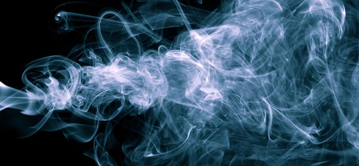 Image of cloud of cigarette smoke for Quotacy blog Life Insurance for Tobacco, Nicotine, and Marijuana Users.