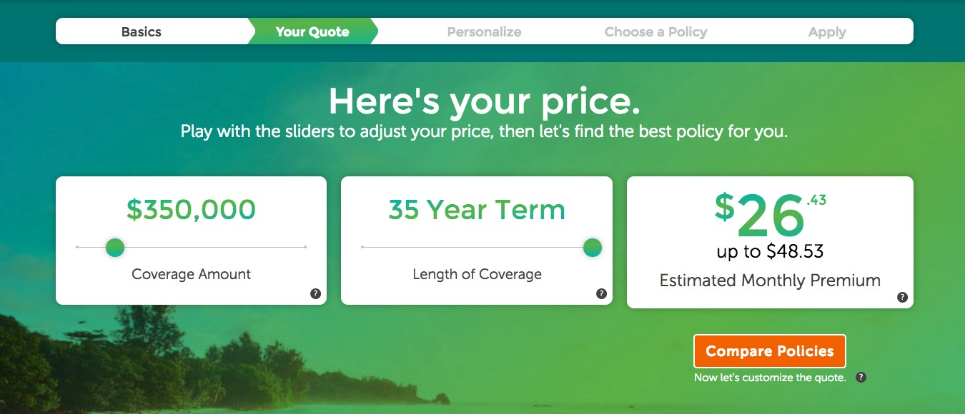 Term Insurance Quotes Find The Best Priced Quotes Quotacy Impressive Term Life Quote