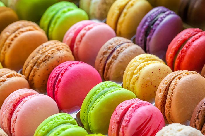 Image of multi colored macaroons for Quotacy blog: Trying to Compare Life Insurance Quotes Yourself? Here's 8 Ways to Better Spend Your Time.