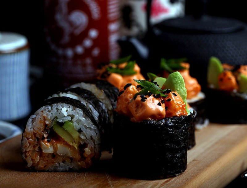 Image of dynamite vegan sushi for Quotacy blog: Trying to Compare Life Insurance Quotes Yourself? Here's 8 Ways to Better Spend Your Time.