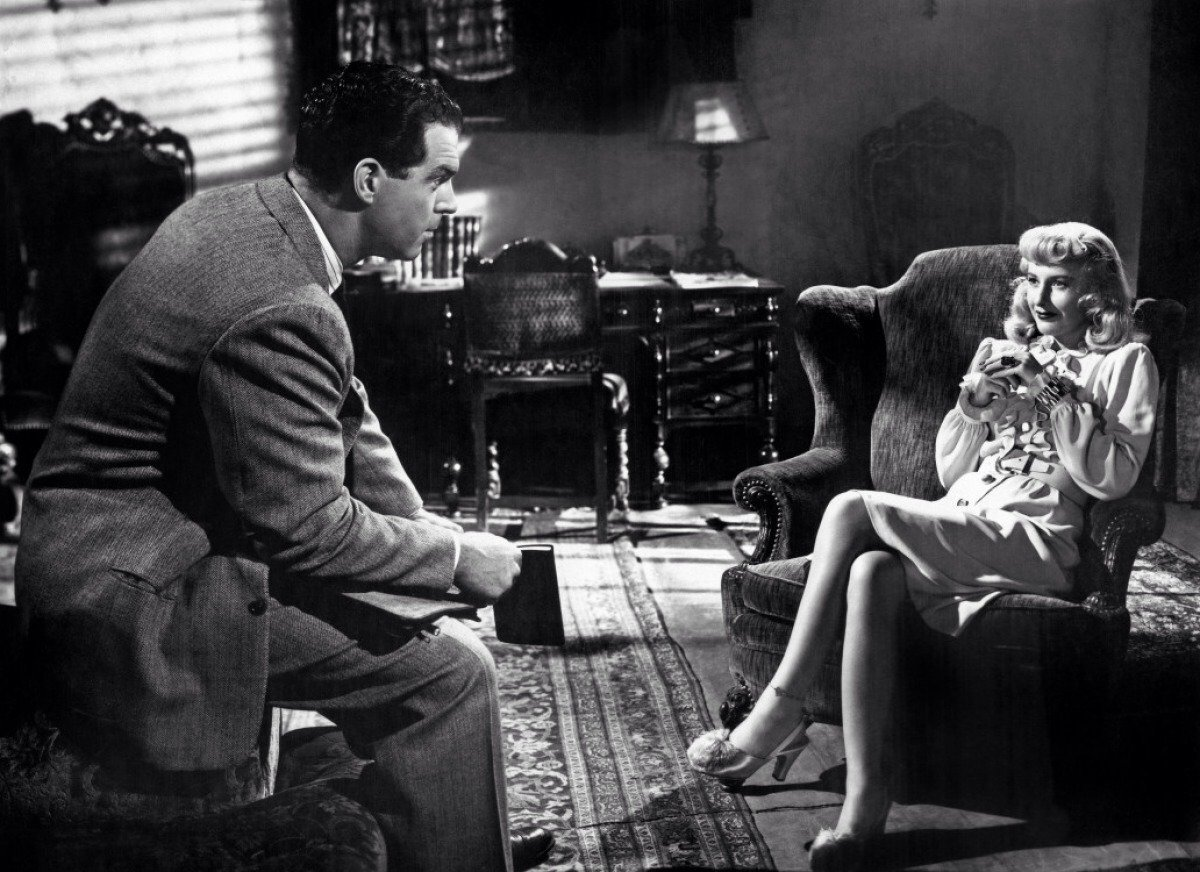 Image from the movie Double Indemnity for Quotacy blog: Term Life Insurance on the Silver Screen.