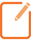 Quotacy, Inc. orange icon set: compare life insurance policies.
