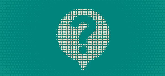 Image of question mark for Quotacy blog: 12 Term Life Insurance Phrases to Know Before You Buy.