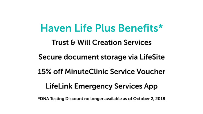 Haven Life Plus benefits
