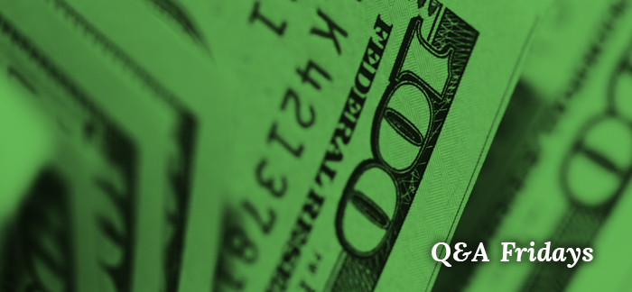 Image of money for the Quotacy blog: Paying Off Debt with Life Insurance | Q&A Fridays.