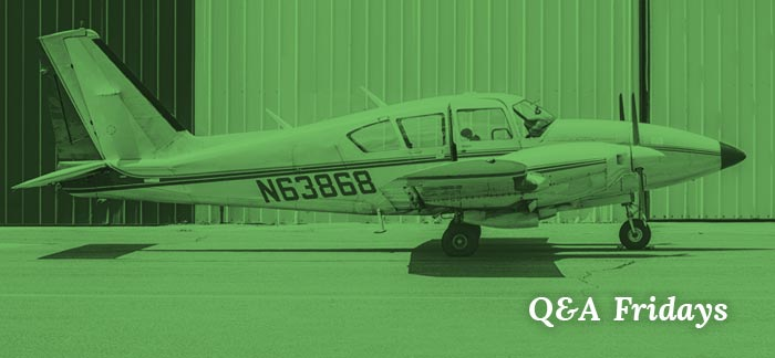 Image on a small plane for the Quotacy blog: What Is a Life Insurance Niche? | Q&A Fridays.