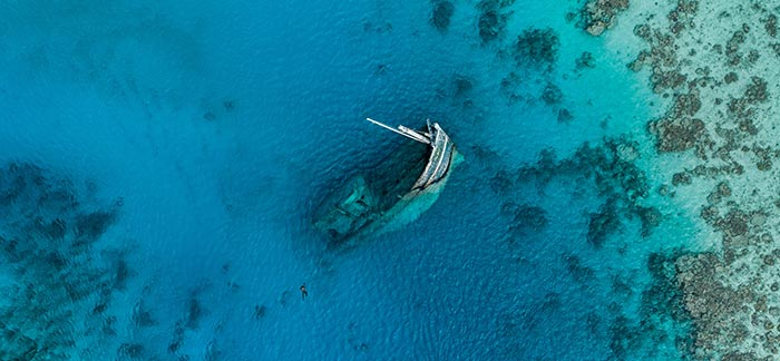 sunken ship in the ocean for Quotacy blog how to cancel a life insurance policy